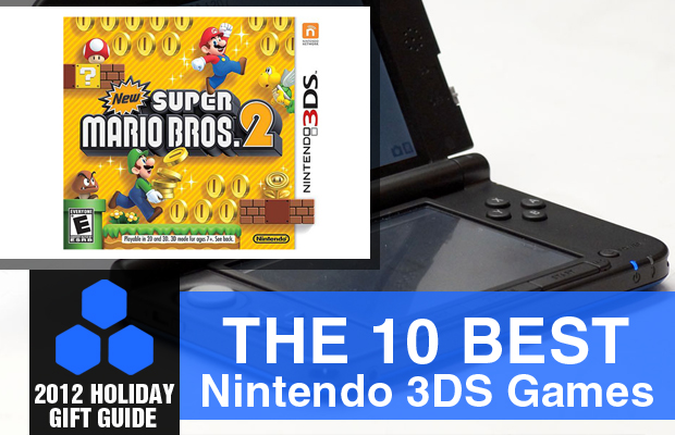 2012 Holiday Gift Guide The 10 Best Nintendo 3DS Games