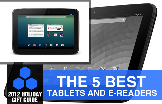 2012 Holiday Gift Guide The 5 Best Tablets (and e-Readers)