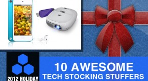 2012 Holiday Gift Guide: 10 Awesome Tech Stocking Stuffers