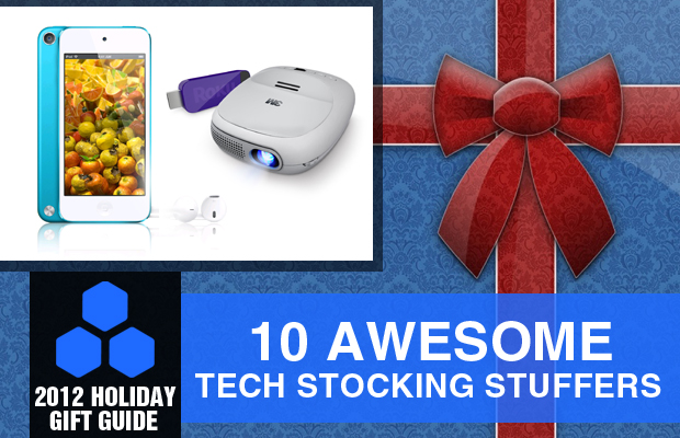 2012 Holiday Gift Guide 10 Awesome Tech Stocking Stuffers