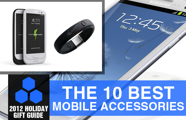 2012 Holiday Gift Guide 10 Best Mobile Accessories