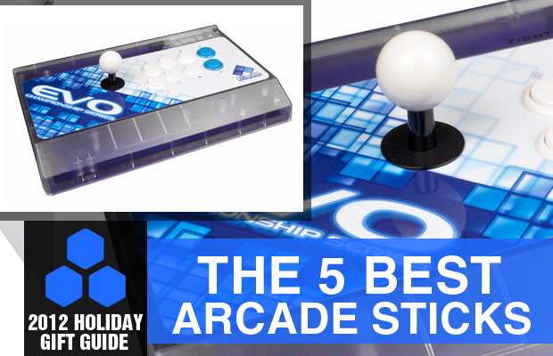 2012 Holiday Gift Guide the 5 Best Arcade Sticks