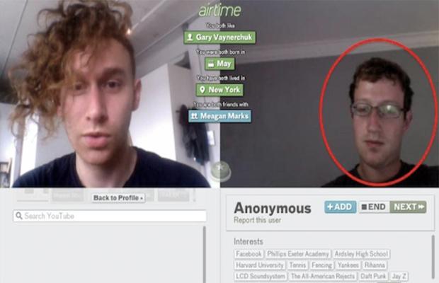 2012 Social Media Fails Mark Zuckerberg AirTime