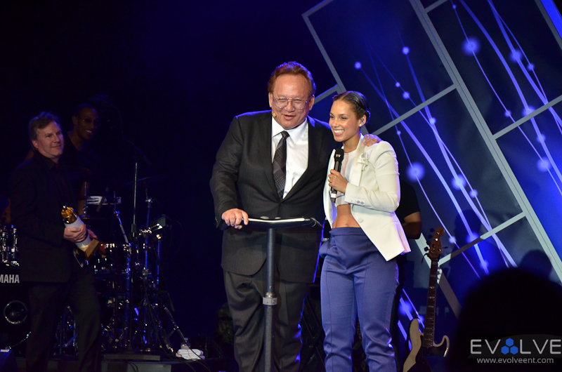 Alicia Keys CES Concert and Noel Lee