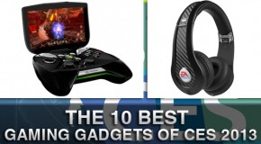 The 10 Best Gaming Gadgets of CES 2013