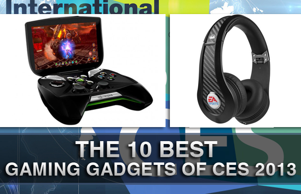 Best Gaming Gadgets of CES 2013
