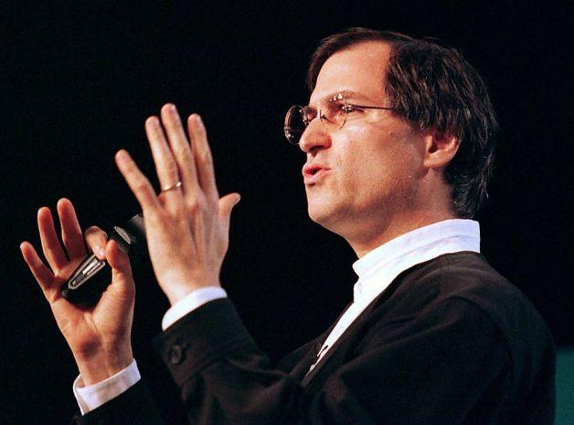 Steve Jobs at MacWorld 1997