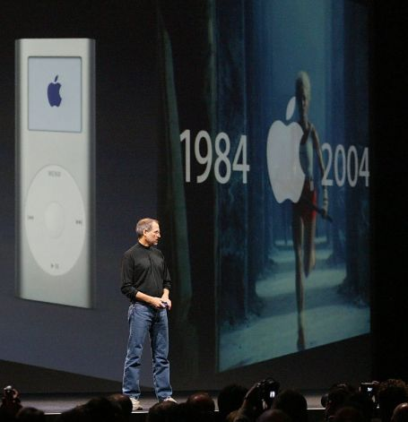 Steve Jobs at MacWorld 2004