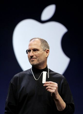 Steve Jobs at MacWorld 2005