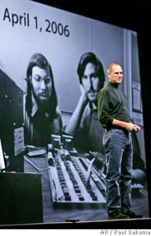 Steve Jobs at MacWorld 2006