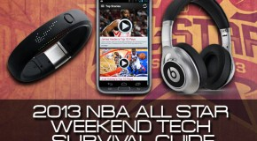 2013 NBA All-Star Weekend Tech Survival Kit