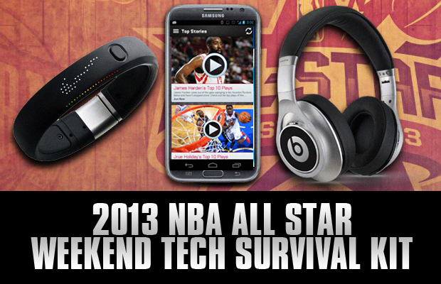 2013 NBA All Star Weekend Tech Survival Kit