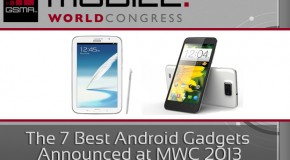 The 7 Best Android Gadgets Announced at MWC 2013