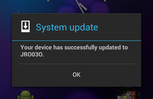 Android Key Lime Pie Never Update Feature