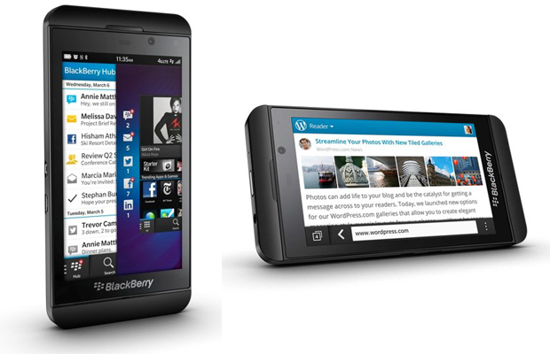 BlackBerry Z10 Review Sides