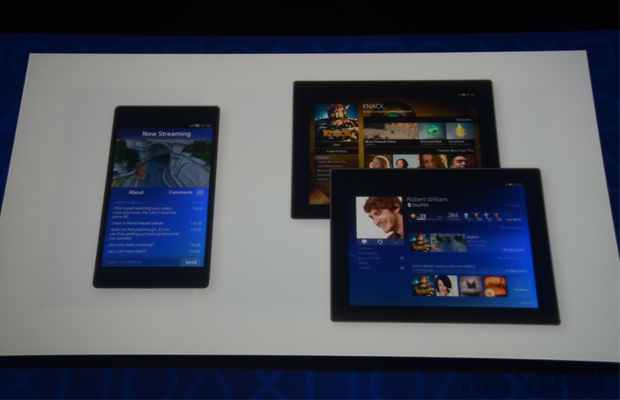 Sony PS4 Mobile