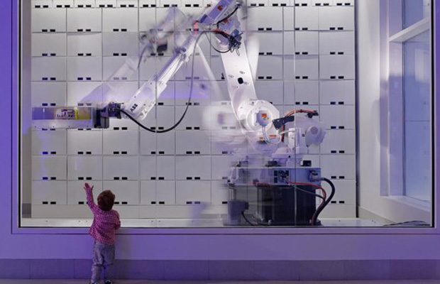 Yotel CEO Gerard Greene Robot