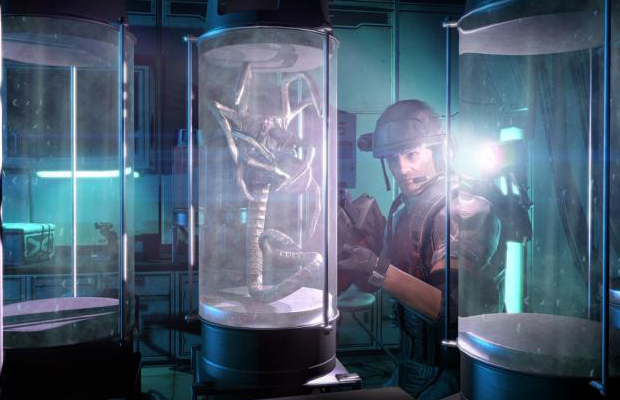 aliens colonial marines story mode
