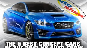 The 5 Best Concepts Cars of the 2013 NY Auto Show