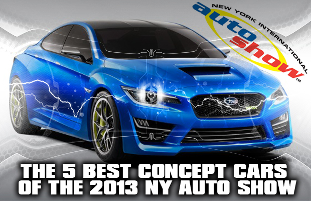 5 Best Concept Cars of the 2013 NY Auto Show