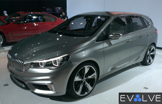 Best Concept Cars of 2013 NY Auto Show BMW Active Tourer Plug-In Concept