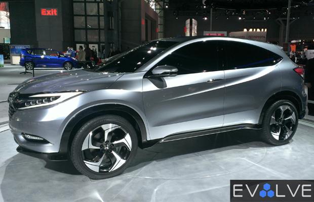 Best Concept Cars of 2013 NY Auto Show Honda Urban Concept SUV