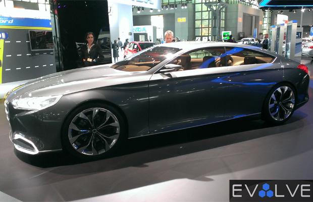 Best Concept Cars of 2013 NY Auto Show Hyundai HCD-14 Genesis Concept