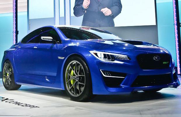 Best Concept Cars of 2013 NY Auto Show Subaru WRX Concept