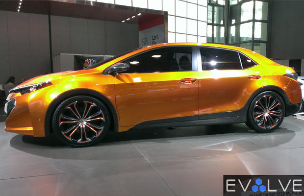 Best Concepts Cars of 2013 NY Auto Show Corolla Furia Concept