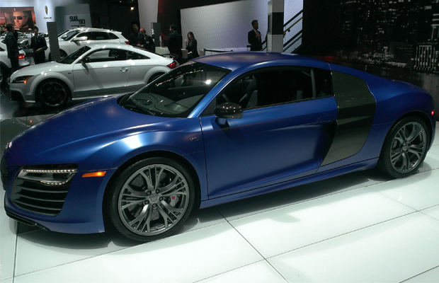 Best cars of 2013 ny auto show 2014 Audi R8 V10 Plus