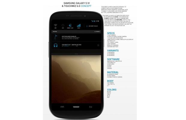 Galaxy S IV Concepts Nikolai Prettner