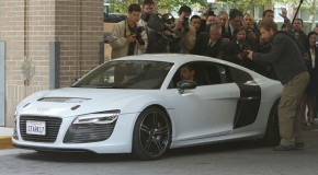 Iron Man 3: Tony Stark Spotted In Audi R8 e-tron