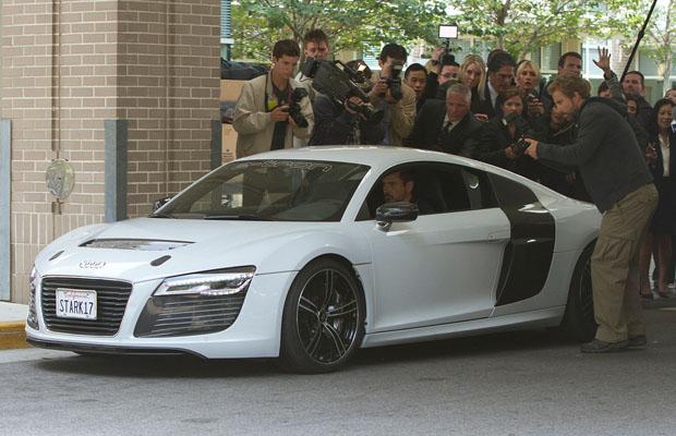 Tony Stark Audi R8 e-Tron