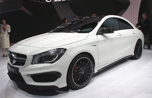 best cars of 2013 ny auto show 2014 Mercedes Benz CLA45 AMG