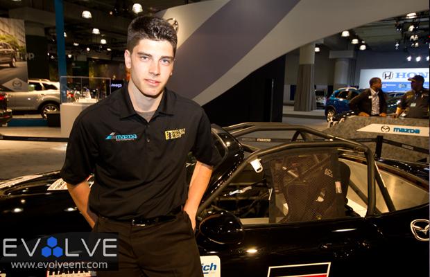 Peter Portante Mazda Racer