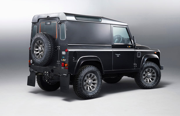 2013 Land Rover Defender LXV Special Edition Rear