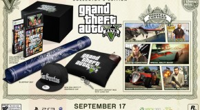 GTA V Collector's Edition Gives Sneak Peak of Inside Cover and Extra Goods