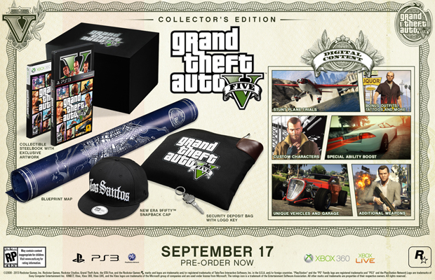 GTA V Collectors Edition