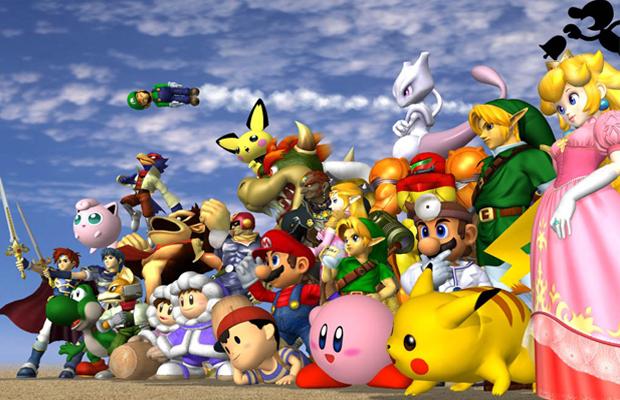 Games of E3 Super Smash Bros 4