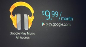 Google Play Music All Access Announced, Takes on Spotify and Pandora