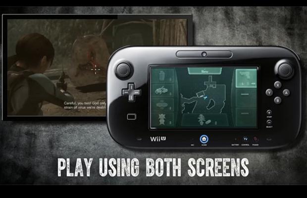 Resident Evil Revelations Wii U Gamepad Features