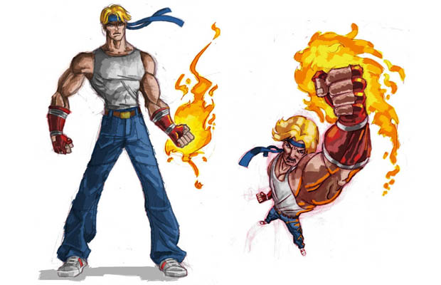 Streets of Rage Reboot Axel Concept Art