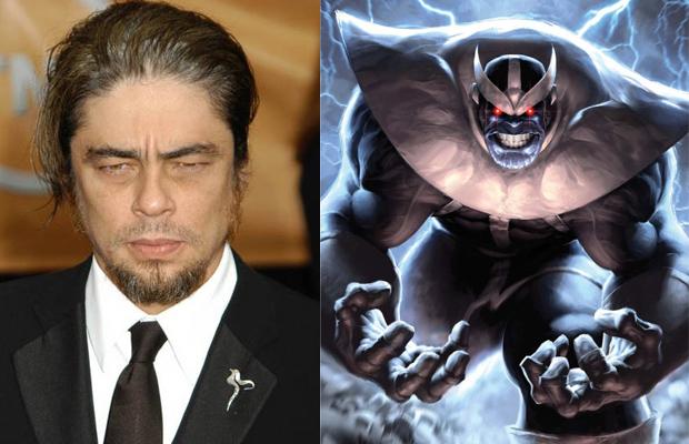 Benicio Del Toro Thanos Guardians of the Galaxy
