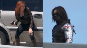 The Black Widow and Winter Soldier Appear on Captain America 2 Set