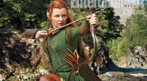 First Look at Evangeline Lilly in 'The Hobbit: The Desolation of Smaug'