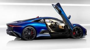 Jaguar C-X75 Concept Photos Surface