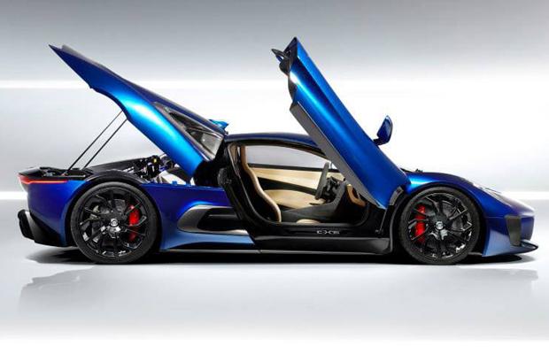 Jaguar C-X75 Concept Doors