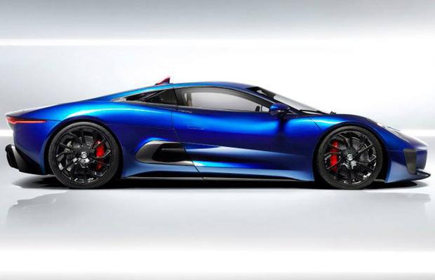 Jaguar C-X75 Concept Side Angle