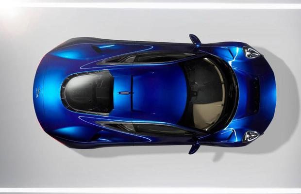 Jaguar C-X75 Concept Top