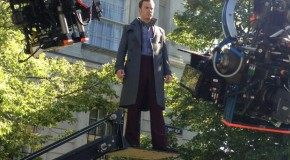 Magneto Hovers onto X-Men: Days of Future Past Set [First Look]